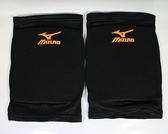 [陽光樂活=] MIZUNO 美津濃 運動 運動護膝 排球護膝 (1 組 2 腳) 內襯:EVA FOAM V2TY600652 黑X橘