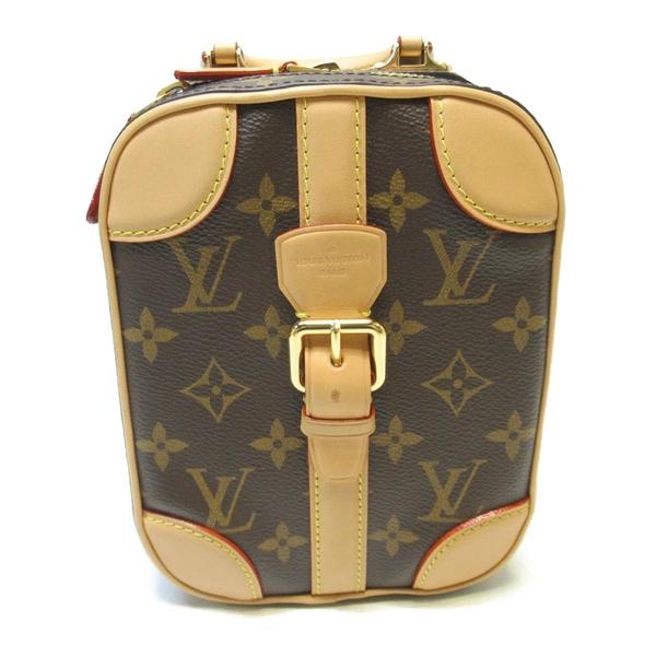 LOUIS VUITTON LV 路易威登 原花斜背小包 Mini Luggage Vertical M68623【BRAND OFF】