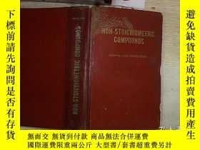 二手書博民逛書店NON罕見STOICHIOMETRIC COMPOUNDS(非化學計算化合物)(73)Y203004