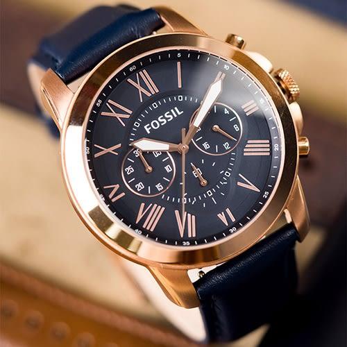 FOSSIL GRANT 經典復古藝術腕錶 FS4835 熱賣中!