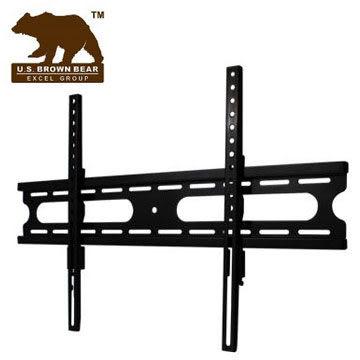 美國布朗熊 W4-63F 固定式電視壁掛架 - 適用37吋~65吋電視壁掛 , *安裝費另計算*