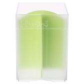 日本 Inomata 三格直式收納盒 透明色 型號4755