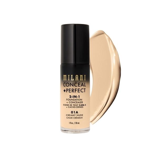 Milani Conceal + Perfect 完美零瑕二合一遮瑕粉底液 01A Creamy Nude 30ml