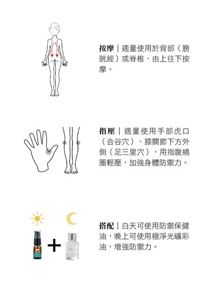 【Orient Retreat登琪爾】愛與希望LOVE&HOPE 防禦保健油Immune Booster (10ml)+極淨光礦彩油(30ml)