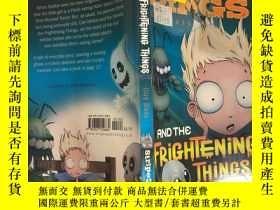 二手書博民逛書店DINKIN罕見DINGS AND THE FRIGHTENING THINGS:丁金丁和那些可怕的東西 ,Y