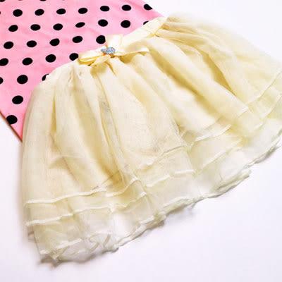 【錢豪童裝童鞋】愛心多層紗質褲裙(85~125cm)
