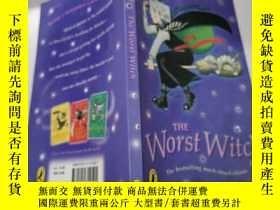 二手書博民逛書店the罕見worst witch :最壞的 女巫Y200392