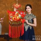 新年春節裝飾用品中國結年年有魚喜慶掛件室內客廳特色 『優尚良品』YJT
