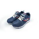 《FILA》兒童 輕量慢跑鞋 藍 3-J405U-311