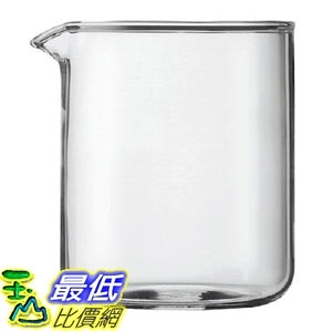 [8美國直購] Bodum 1504-10 Replacement Glass Two Cup, 17-Ounce Spare Glass B0000CFMA3