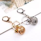 鑰匙圈 宮鈴掛件鈴鐺花千骨同款汽車鑰匙扣合金鏤空情侶包包掛飾禮物男女
