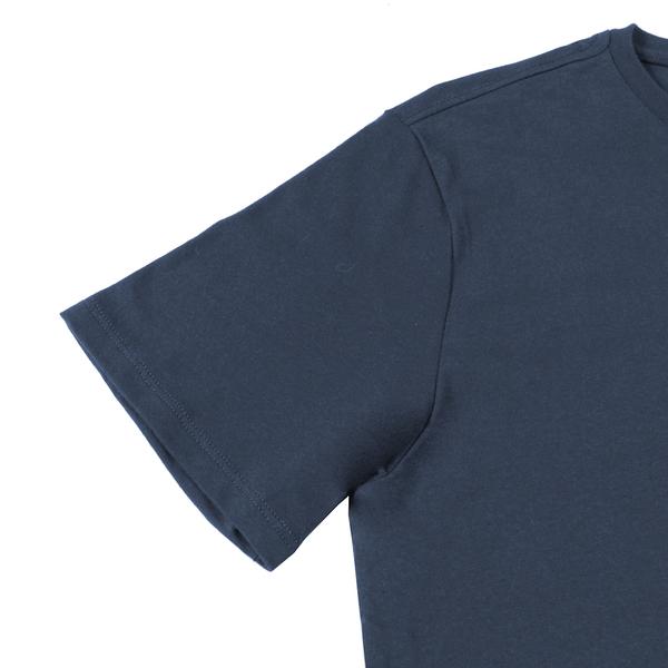 Levis 男款 短袖T恤 / 復古立體描框 Logo / 藍