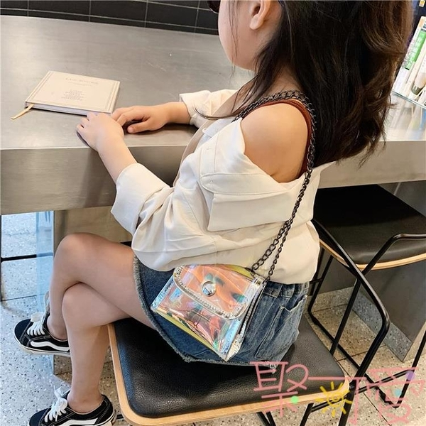 可愛小挎包時尚女童包包兒童斜背包寶寶側背包【聚可愛】