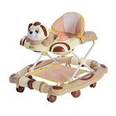 嬰兒學步車多功能防側翻可折疊帶音樂