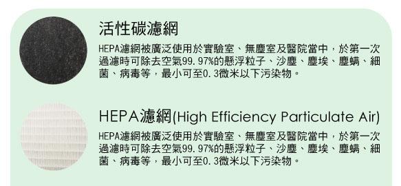 《現貨立即購》Opure A5 / A6 靜電HEPA濾網 + 蜂巢狀除甲醛濾網 臻淨 大王機 空氣清淨機專用