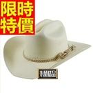 牛仔帽子休閒造型-騎士風隨性明星同款紳士風男帽子1色57j4【巴黎精品】