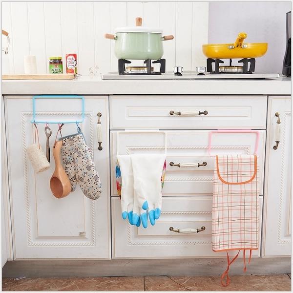 門背掛鈎 櫥櫃門背掛鈎浴室置物架免釘無痕毛巾架多用途門後壁掛抹布掛架