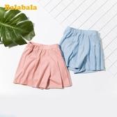 童裝女童短褲兒童褲子夏季2020新款小童寶寶牛仔褲韓版棉 童趣屋