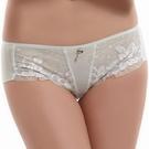 【LADY】魔法鉤花系列 低腰平口褲(草原綠)