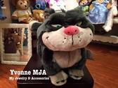 *Yvonne MJA英國代購*英國迪士尼Disney 商店限定正品仙履奇緣 貓咪 魯斯佛 Lucifer 大型娃娃