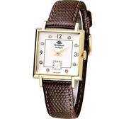 玫瑰錶 Rosemont 戀舊系列魅力時尚腕錶 TN004-YW-CBR