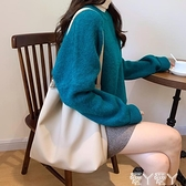 側背包 大包女2021年新款包包韓版女包側背包大容量休閒托特包 愛丫 新品