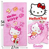 Kitty 純棉童巾 凱蒂貓甜點餅乾款 三麗鷗 Sanrio