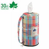 丹大戶外【LOGOS 】 愛麗絲餐巾紙套抽取式面紙盒裝飾袋紙巾套81285057 紅
