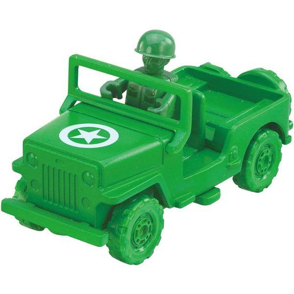 TOMICA 玩具總動員小汽車 綠色小士兵&軍事車_DS84474