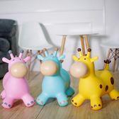 兒童跳跳馬玩具寶寶坐騎馬充氣馬加厚加大小鹿帶木馬座騎皮馬 百搭潮品