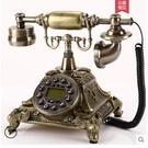 悅旗旋轉盤仿古歐式老式電話機復古家用時尚...