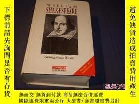 二手書博民逛書店William罕見Shake speare: The Complete Works 莎士比亞全集Y14635