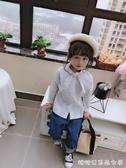 女童長袖襯衫-童裝春秋季新款中小童時尚可愛甜美襯衫 洋氣長袖上衣 潮 糖糖日系