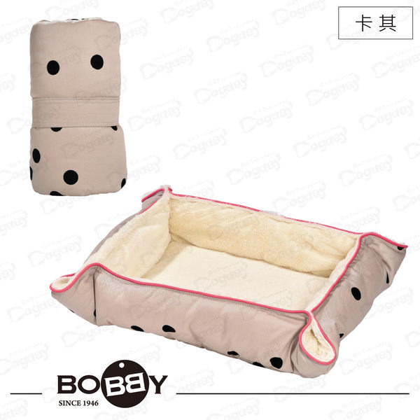 法國《BOBBY》香檳泡泡折疊床 S 旅行用睡墊 貓床 狗床 隨處睡 寵物住宿專用