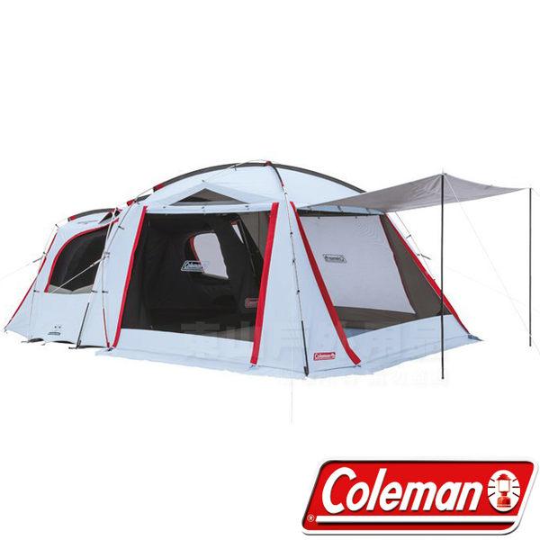 Coleman CM-33134 Tough透氣子母帳 2-Room露營帳篷一房一廳帳