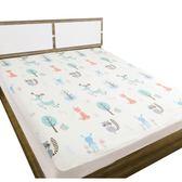 隔尿墊超大號嬰兒防水床墊可洗純棉透氣成人床單寶寶床笠大號床罩 小巨蛋之家