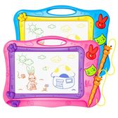 兒童畫板彩色磁性寫字板寶寶磁力畫寫板繪畫涂鴉小朋友畫畫板玩具【快速出貨八折優惠】