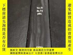 二手書博民逛書店transactions罕見on automatic control vol.39 no.5-8 1994 (自動