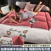 床墊 加厚羊羔絨床墊軟墊家用褥子宿舍單人學生寢室榻榻米墊被租房專用【幸福小屋】