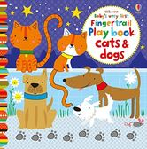 Baby's Very First Fingertrail Play Book Cats & Dogs 寶貝的第一本翻翻觸摸操作書:貓咪狗狗篇