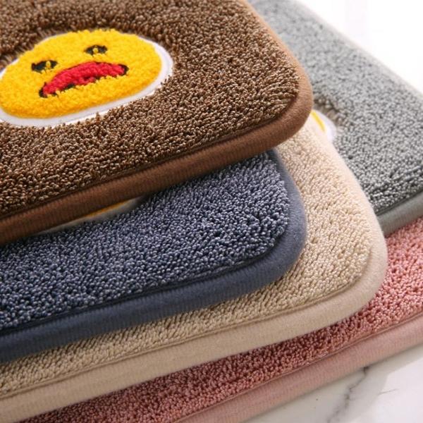 衛生間吸水地墊浴室門口腳墊半圓進門地毯臥室門墊洗手間防滑墊子 伊蘿
