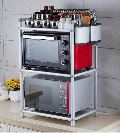 廚房微波爐置物架調味架收納 限時八八折