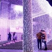 防水led彩燈閃燈串燈滿天星星裝飾工程亮化節日圣誕婚慶時光隧道