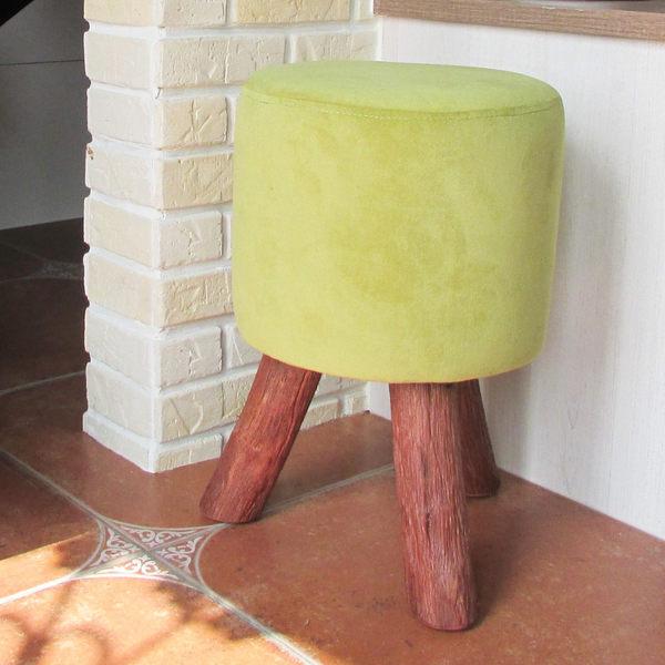 凳子 椅凳 繽紛沙發椅凳 【YCN013】青岡裂實木小圓凳 Amos