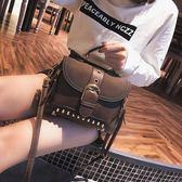 上新包包女2018新款潮韓版百搭斜背包時尚簡約復古肩背手提包