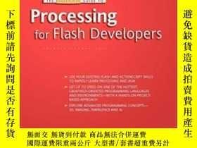 二手書博民逛書店The罕見Essential Guide To Processing For Flash Developers