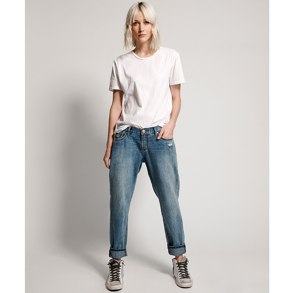 ONETEASPOON VENICE AWESOME BAGGIES STRAIGHT LEG JEAN  牛仔褲-藍(女)