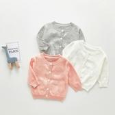 愛心簍空針織小外套 防曬 冷氣房 外套 薄外套 開衫 童裝 小童 女童 嬰兒 寶寶 橘魔法 現貨 童裝