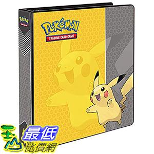 [美國直購] 神奇寶貝 精靈寶可夢周邊 Pokemon UP 84568 Pikachu 3-Ring Binder Card Album, 2吋
