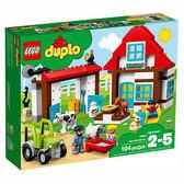 樂高積木 LEGO《 LT10869 》2018 年 Duplo 幼兒系列 - 農場探險 ╭★ JOYBUS玩具百貨